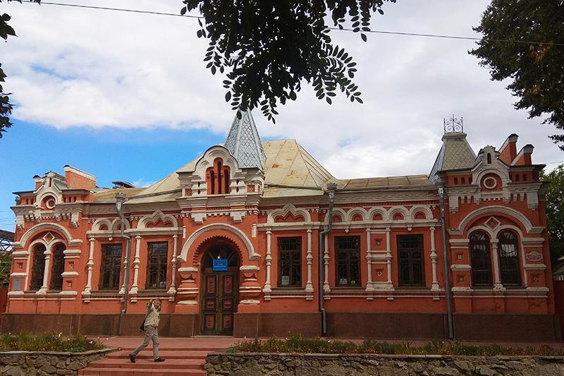 Будинок-музей відомого єлисаветградського художника Олександра Осмьоркіна