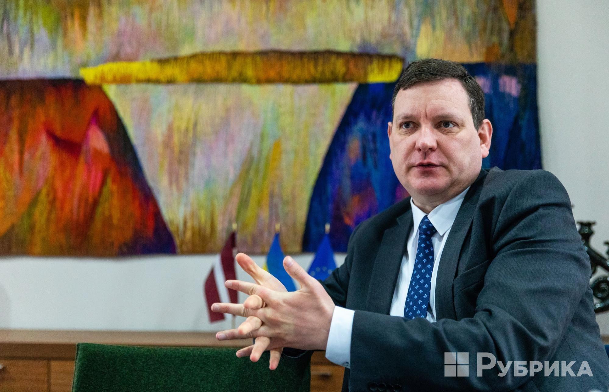 посол латвії в україні Юріс Пойканс