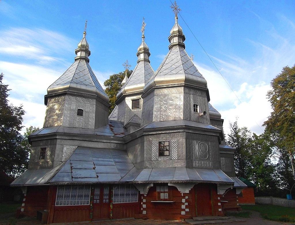 Церковь Рождества Пресвятой Богородицы, Нижний Вербиж
