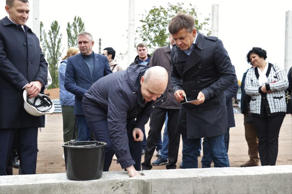 Закладання капсули під будівництва сміттєпереробного заводу в Житомирі